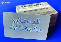 Barcode Membership Card