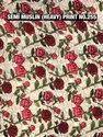 Semi Muslin Printed Fabric