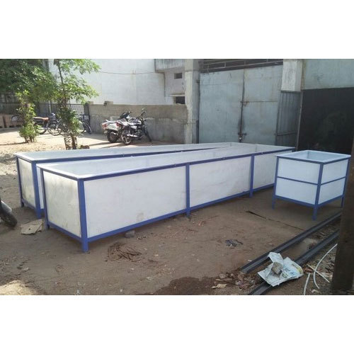 PP Anodizing Tank, Capacity: 5000-10000 L And 250-500 L