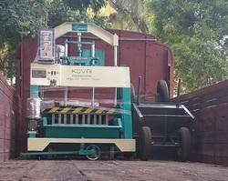 Cement Hollow Bricks Machine
