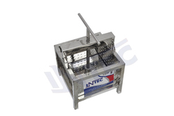 Intec - Stainless Steel Manual Cheese Press / Cheese Mould