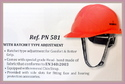 Safety Hard Hats Ratchet Type For Executive Make KARAM