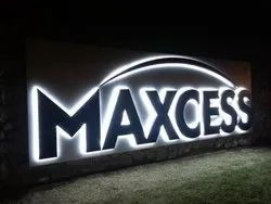 SS Backlit LED Signage