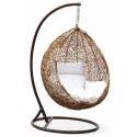 Carry Bird Brown Hanging Swing