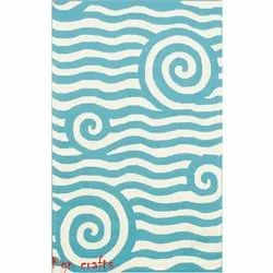 KGN CRAFTS Wool CARPETS & RUGS, For Home, Size: 5x8 Feet