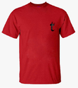 Round Neck Red T Shirt