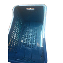 Blue Rectangular Plastic Crates, For Vegetable And Fruits, Capacity: 20-25 Kg