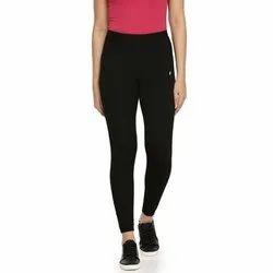 Feather Soft High Waist Ladies Black Slim Fit Yoga Pants