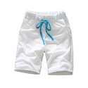 Mens White Plain Short