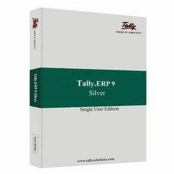 Tally Single User, Silver, Erp 9