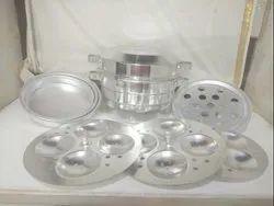 Shikha Aluminium Idli Dhokla Momos Cooker, For Home