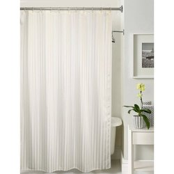 Lushomes Plain Unidyed Shower Curtain