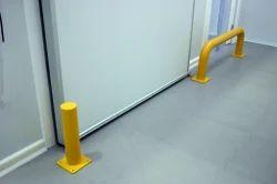 Stainless Steel Doors Door Protectors, Size: Normal