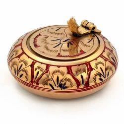 Meenakari Work Ash Tray Handicraft -203