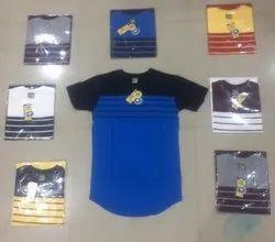 U Cut Printed Boys T.Shirt Kids, Size: Large