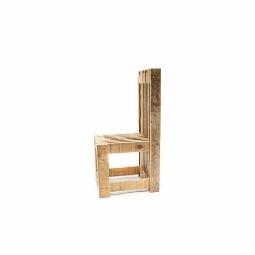 Modern Wooden Low Height Chair