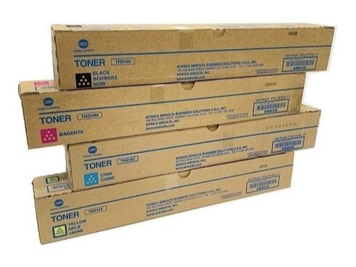 Genuine Konica Minolta TN612 Toner Cartridges FULL SET of 4 CMYK OEM BRAND NEW