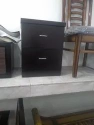 Grover Furniture Wooden Side Table, Number Of Drawer: 2