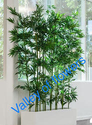 Green Artificial Bamboo Stick, For Decoration, Size: 6 Foot