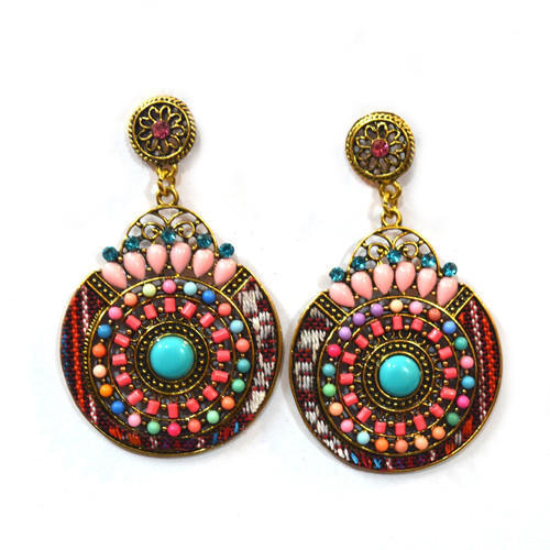 earrings product native gold handmade plated colors