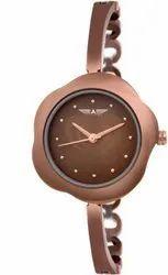 Brown Allisto Europa ALW-65 Pearl Analog Watch