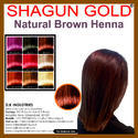 Natural Brown Hair Dye Powder