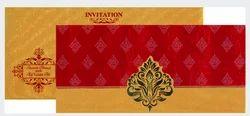 Red & Gold Muslim - Wedding Cards 13