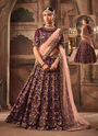 Thread Work Lehenga Cholis For Wedding