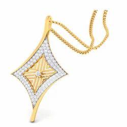 Diamond Gold Pendent