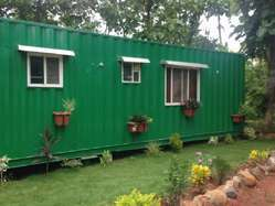 Wood Shipping Containers House
