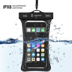 ABS Lock,TPU Black Floating Air Bag Waterproof Mobile Protection Pouch, Size: 81.6 G, 15 X 12 X 3 Cm