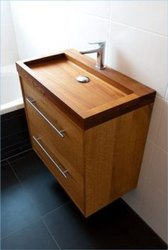 Rectangle Wooden Wash Basin