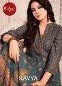 Lt Presents Nitya Ravya 101-107 Series Anarkali Cotton Gold Print Kurtis Collection Online
