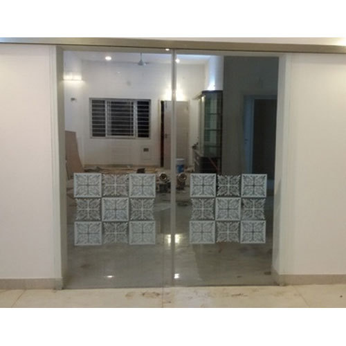 Transparent Standard Sliding Glass Door Rs 1100 Square Feet