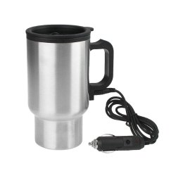 Car Charging Stainless Steel Travel Electric Kettle