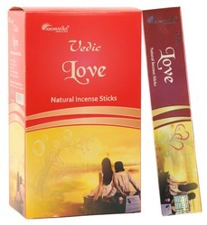 Aromatika Vedic Masala Incense Sticks-Love 15 gram Pack
