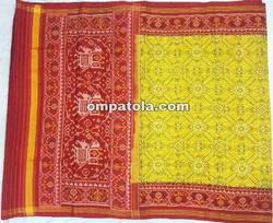 Semi double ikkat patola saree
