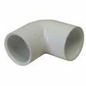 White PVC Elbow