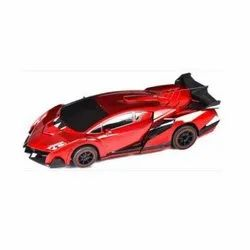 Plastic Red and Black 2 In 1 Converting Transformer Robot Car Toy