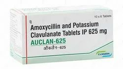 AUCLAN-625 (Amoxycillin And Potassium Clavulanate Tablets I.P.)