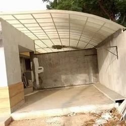 Tunnel FRP Weather Shed