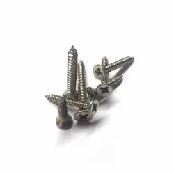 Flat Full Thread 6 mm Stainless Steel Wood Screw, Material Grade: Ss316, Packaging Type: Bag