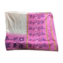 Casual Wear Handloom Saree, 6 M With Blouse Piece