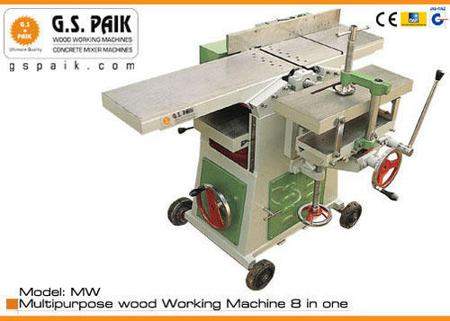 2hp Semi Automatic Wood Working Machine 8 In One Multiple Wood Works Rs 50000 Piece