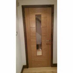 PVC Coated Wooden Door