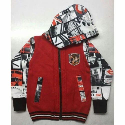 8693503279dd Casual Wear Kids Hooded Jacket