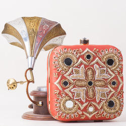 Hand Embroider Clutch Bag