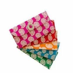 Craft Paper Designer Rectangular Printed Shagun Envelopes