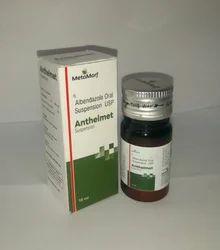 Albendazole 200 mg / 5 ml