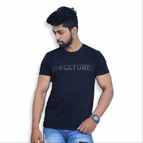 86c1556e1 Unkultured Men Printed Black T-Shirt